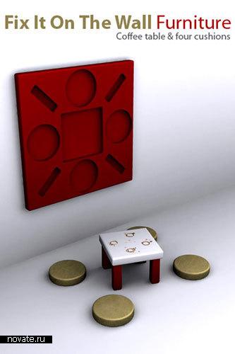 Мебель для лилипутов от John Nouanesing