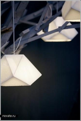 Лампа-булыжник «Пушинка»