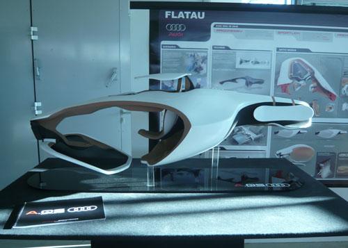 Автомобиль фирмы Аudi, модель A-QS03 от Флориана Флатау (Florian Flatau)