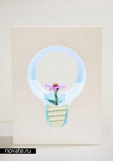 Лампочка-цветок от Ha-Na Yeom