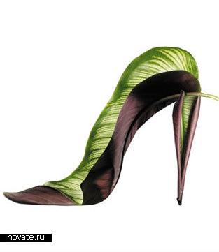 Цветочная обувь