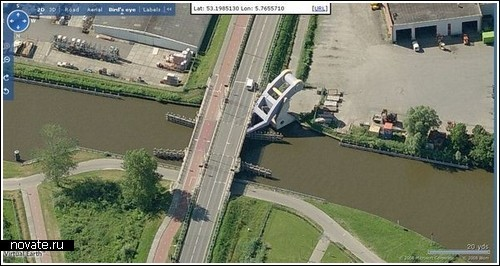 Мост-трансформер в Голландии