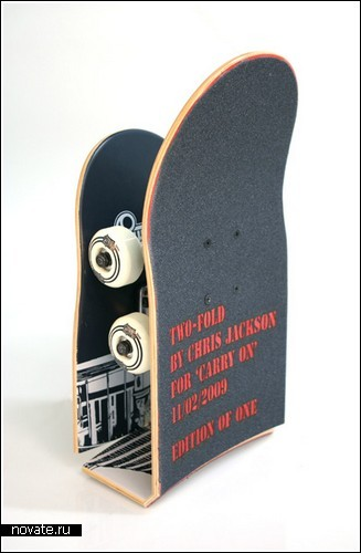 Складной скейт