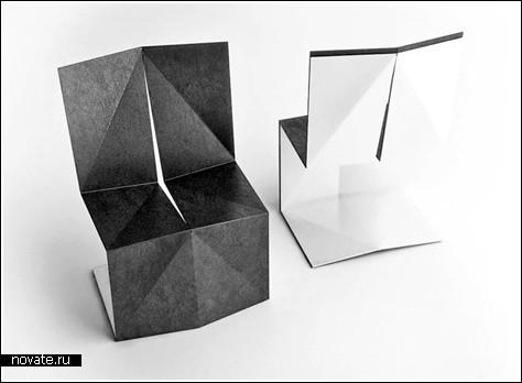 Оригами-стулья