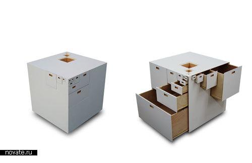 Шкафчик «Fractal» от Takeshi Miyakawa