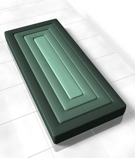 кровать от Junya Mokubo