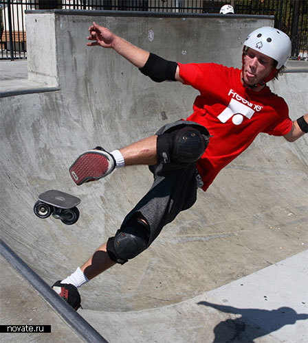 Скейт пополам = новый вид спорта