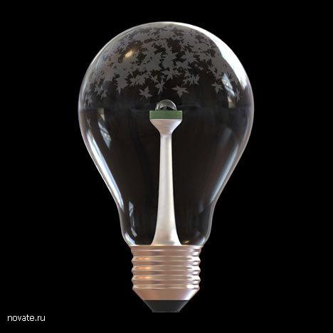 Светодиод внутри лампочки