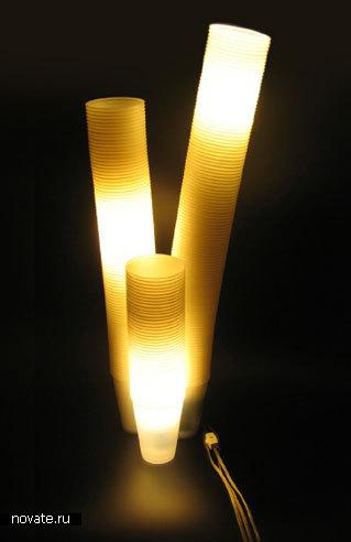 «Мусорная лампа»
