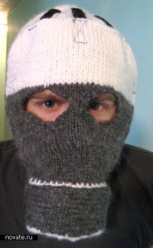 Зимняя шапка-противогаз