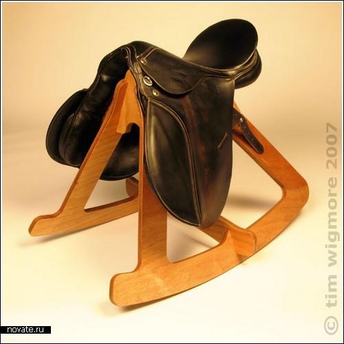 Седло-качалка для дома