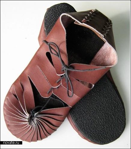 Гладиаторские сапожки…для девушек