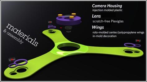 Камера-бумеранг для снимков из воздуха