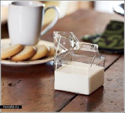 То ли молочник, то ли бумажный пакет