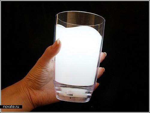 Ночник «Стакан молочного света»