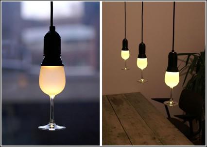 «Свет в стакане» для романтического вечера