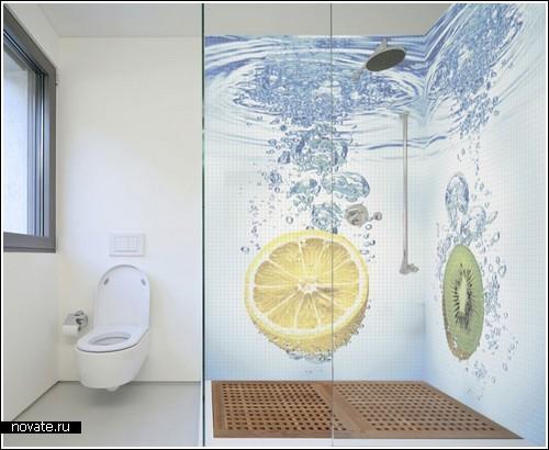 Разный интерьер для ванной