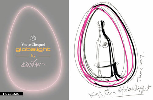 Охлаждающий аппарат для бутылок Globalight от Karim Rashid