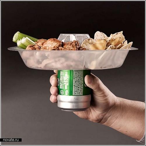 Тарелка для еды и…напитков