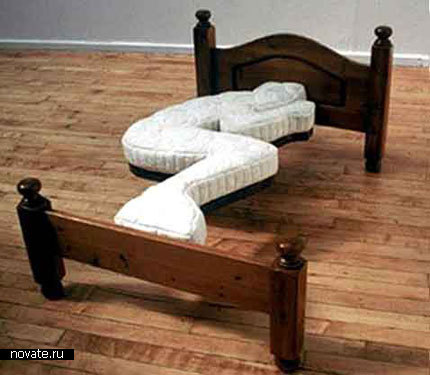 Однобокая кровать