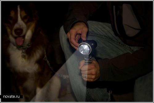 Штатив для…фонарика