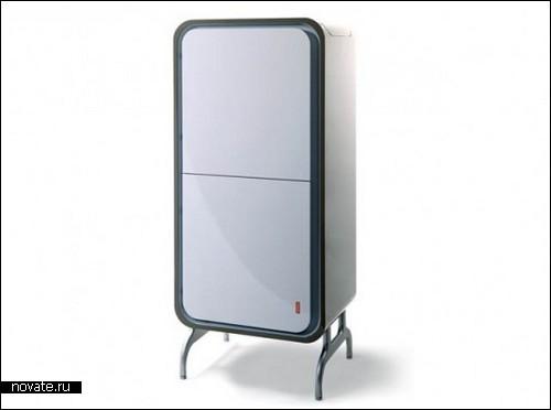 Холодильник, который может стоять и лежать