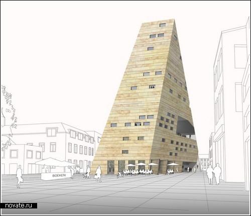 Здание-горка в Гронингене