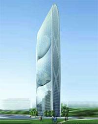 Зеленый небоскреб в Гуандуне