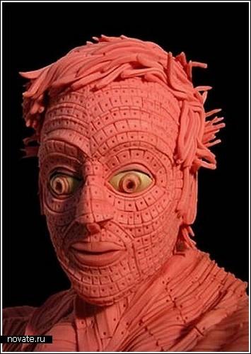 Скульптуры из жвачки