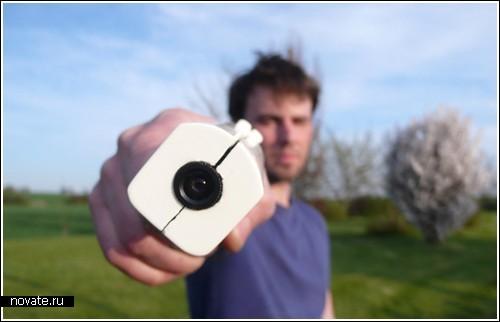 Вместо фоторужья – фотопистолет