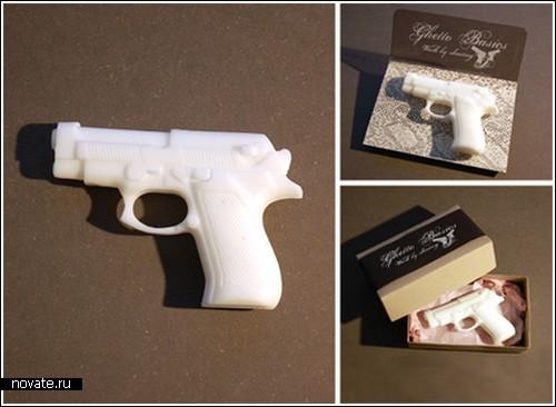 Мыльный пистолет