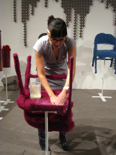 стулья от Tanya Aguiniga
