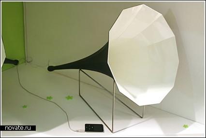 Плеер + граммофон