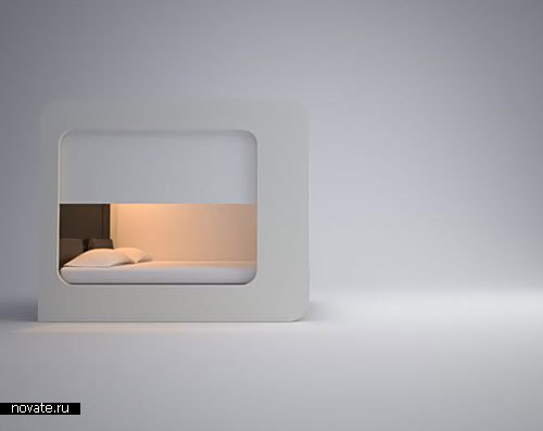 Революционная кровать Hi-Can от Edoardo Carlino