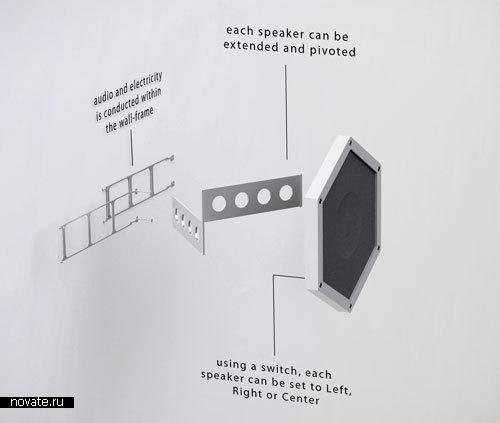 Акустическая система «Улей» от Oskar Daniel