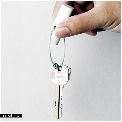 Очередной крючок для ключей – теперь с магнитом