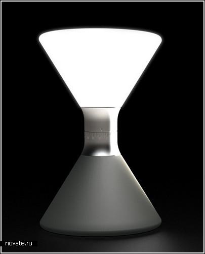 Лампа или песочные часы?