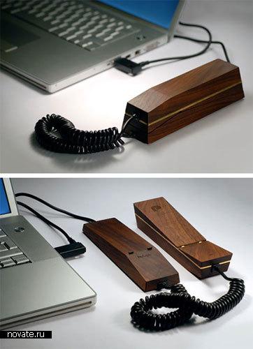 Первый VoIP-телефон