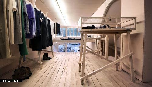 Интерьер бутика в Голландии