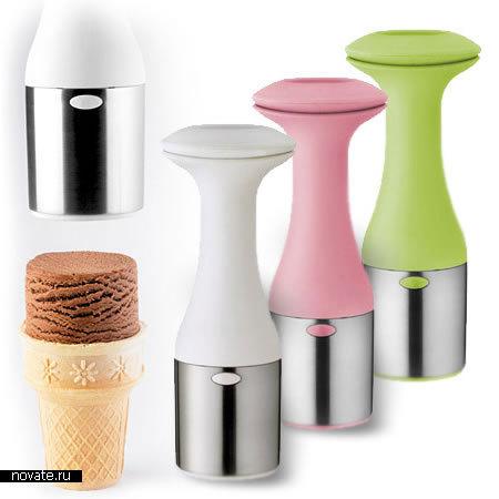 Цилиндры из мороженого