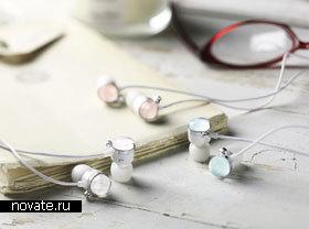 Сережки-наушники из Японии