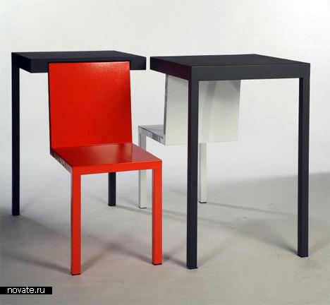 Стул и стол от Melvin Ong