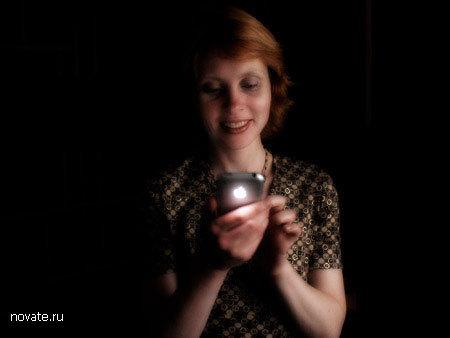 Светящийся iPhone