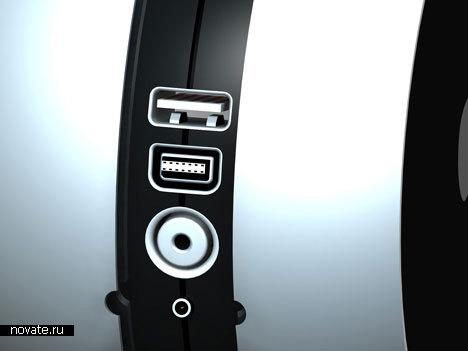 Портативный проектор для iPod и iPhone