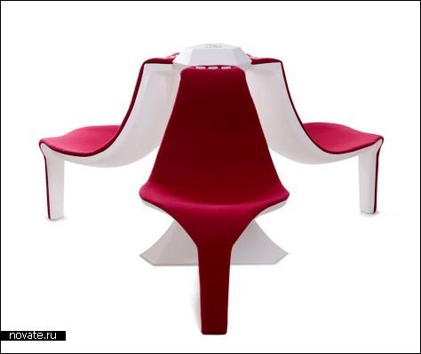 Комфортные кресла для аэропортов и вокзалов