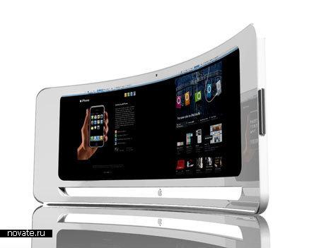 Концепт гаджета iMac iView