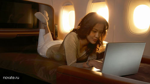Пассажирские места в самолете от JAL