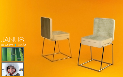 стул от Seungchan Lee