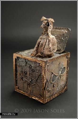«Темные» скульптуры Jason Soles