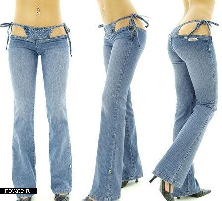 В джинсах и стринги фото — photo 7